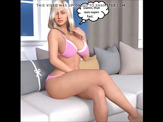 3d comic cuckold wife deprived of bbc while husbands away