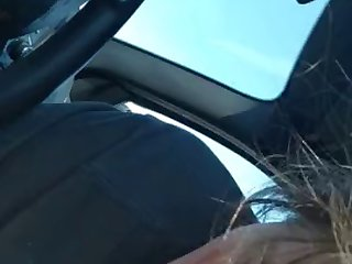taylor moore chokes on my cock in my car